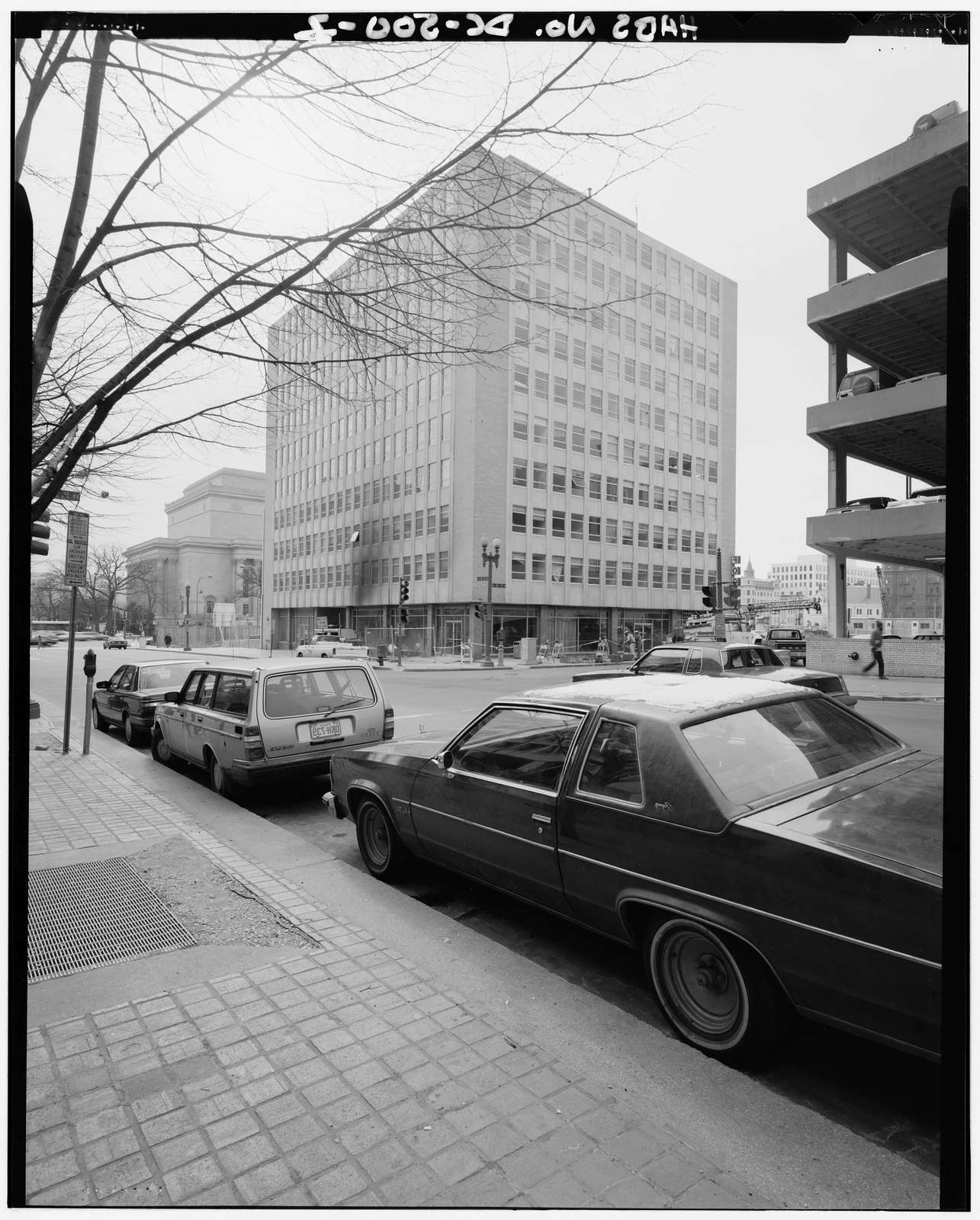 Federal Triangle Building, 315 Ninth Street Northwest, corner of Ninth & D Streets Northwest (Square 408), Washington, District of Columbia, DC
