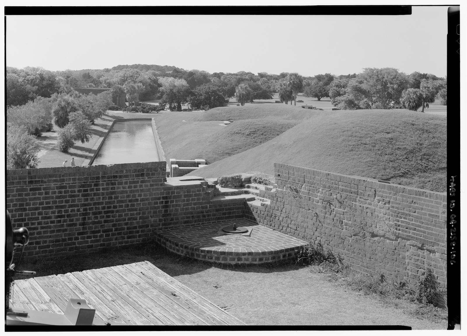 Fort Pulaski, Cockspur Island, Savannah, Chatham County, GA
