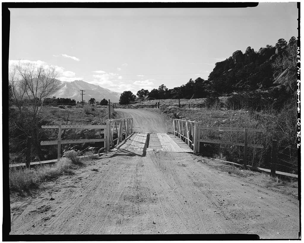 Four Mile Bridge, Spanning Arkansas River, Buena Vista, Chaffee County, CO
