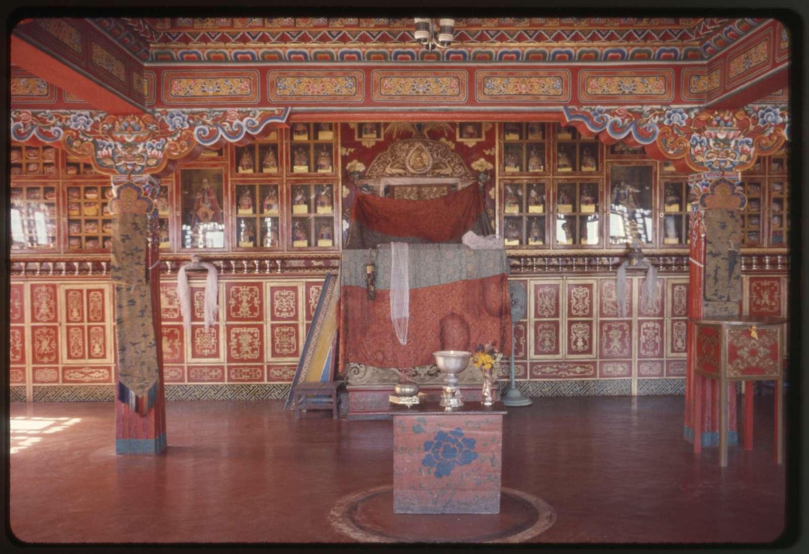 [Inside Rumtek Monastery, Sikkim]