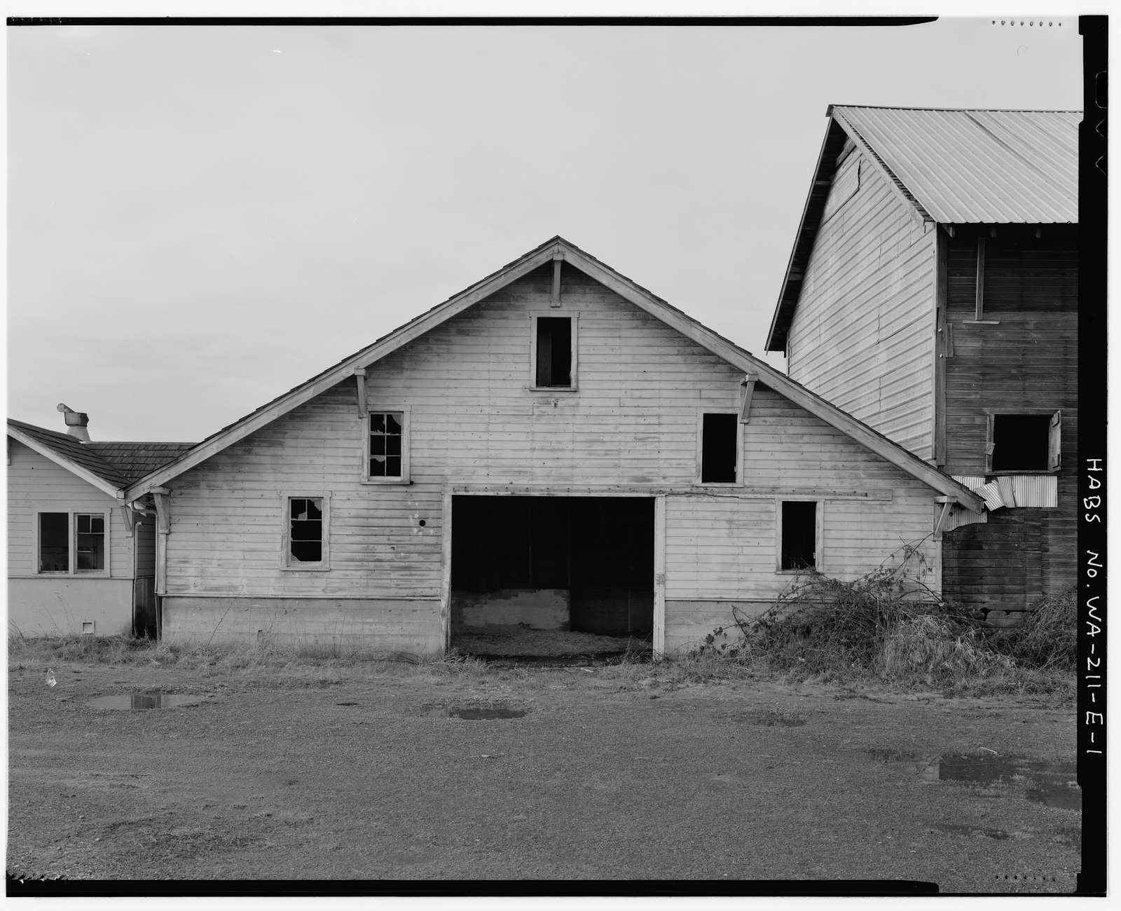 Kosai Farm, Milk Barn, B Street north of Northwest Twenty-ninth Street, Auburn, King County, WA