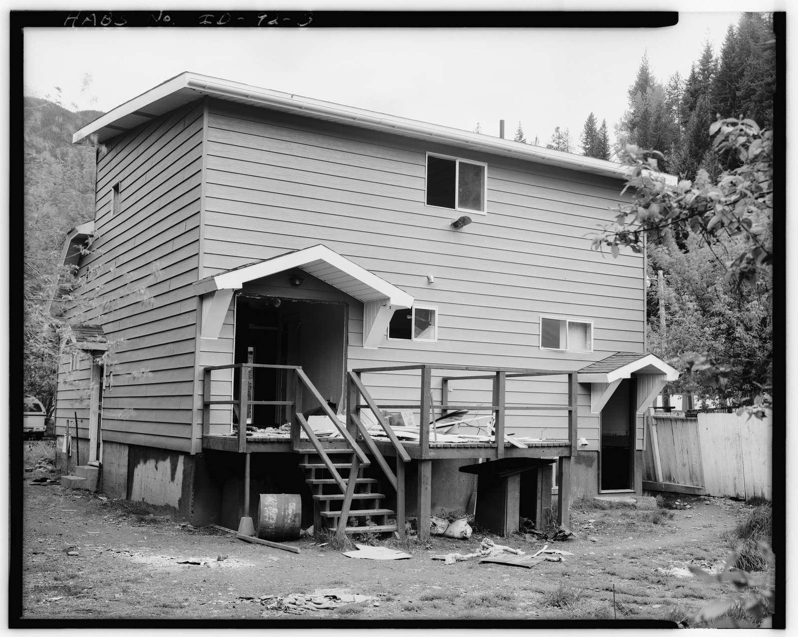Leonard A. Johnson House, 8 Spruce Street, Wallace, Shoshone County, ID