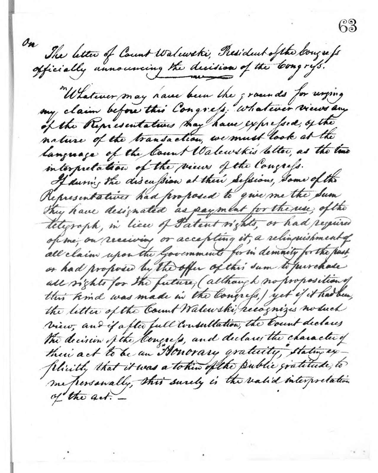 Letterbook---14 June 1861-26 November 1863