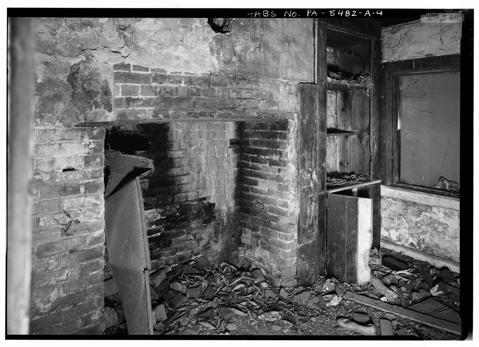 Levi Springer Smoke House-Spring House-Summer Kitchen, Fan Hollow Road, Uniontown, Fayette County, PA