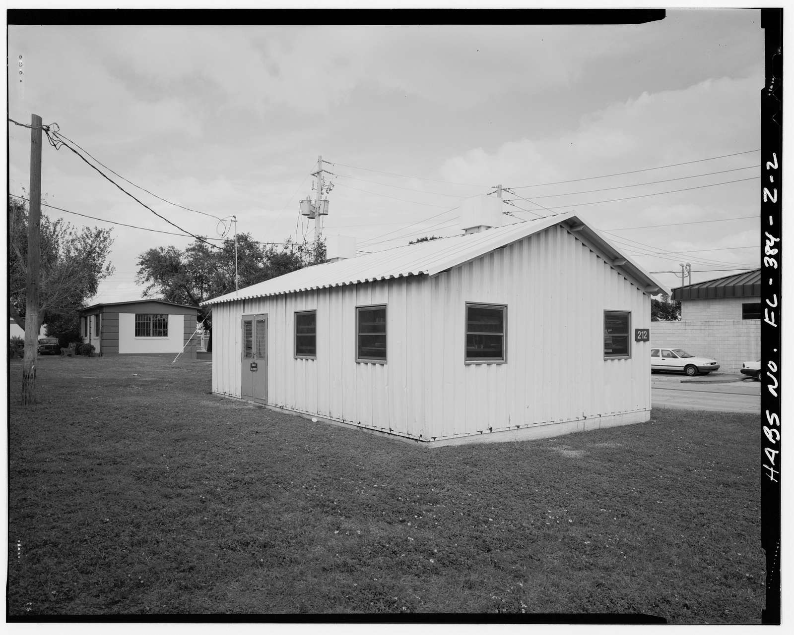 MacDill Air Force Base, Storage Shed, Hanger Loop Drive & Pelican Place, Tampa, Hillsborough County, FL