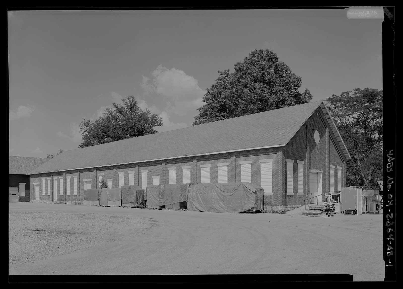 National Home for Disabled Volunteer Soldiers, Central Branch, Shops, 4100 West Third Street, Dayton, Montgomery County, OH