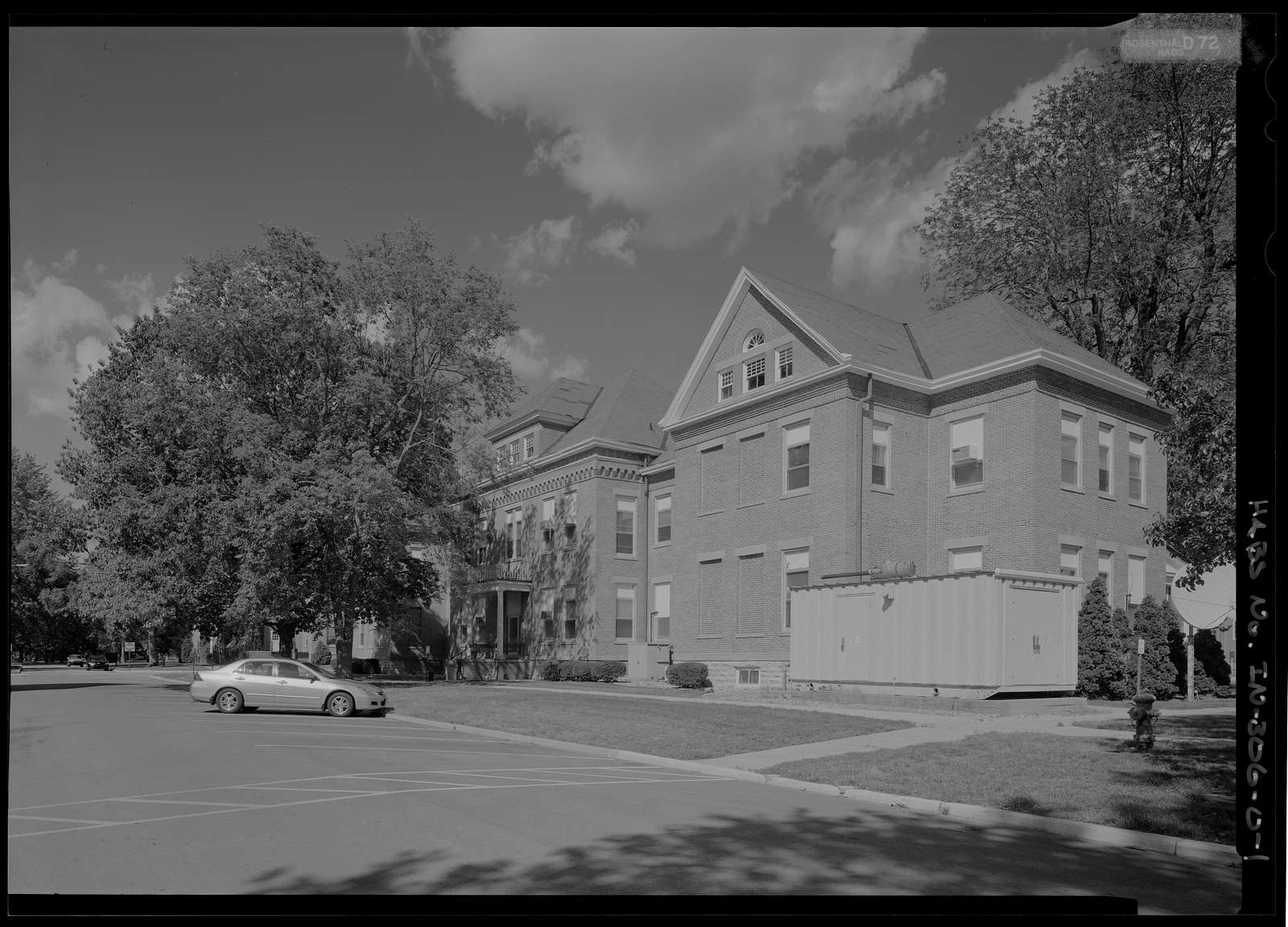 National Home for Disabled Volunteer Soldiers, Marion Branch, Building No. 5, 1700 East 38th Street, Marion, Grant County, IN