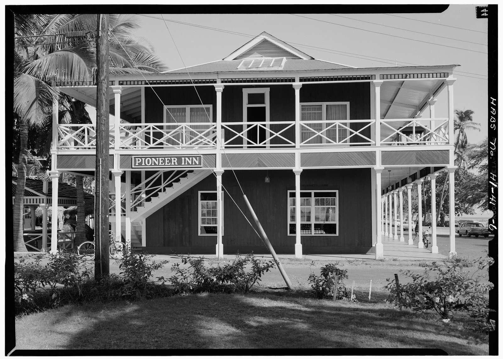 Pioneer Hotel, Front & Hotel Streets, Lahaina, Maui County, HI