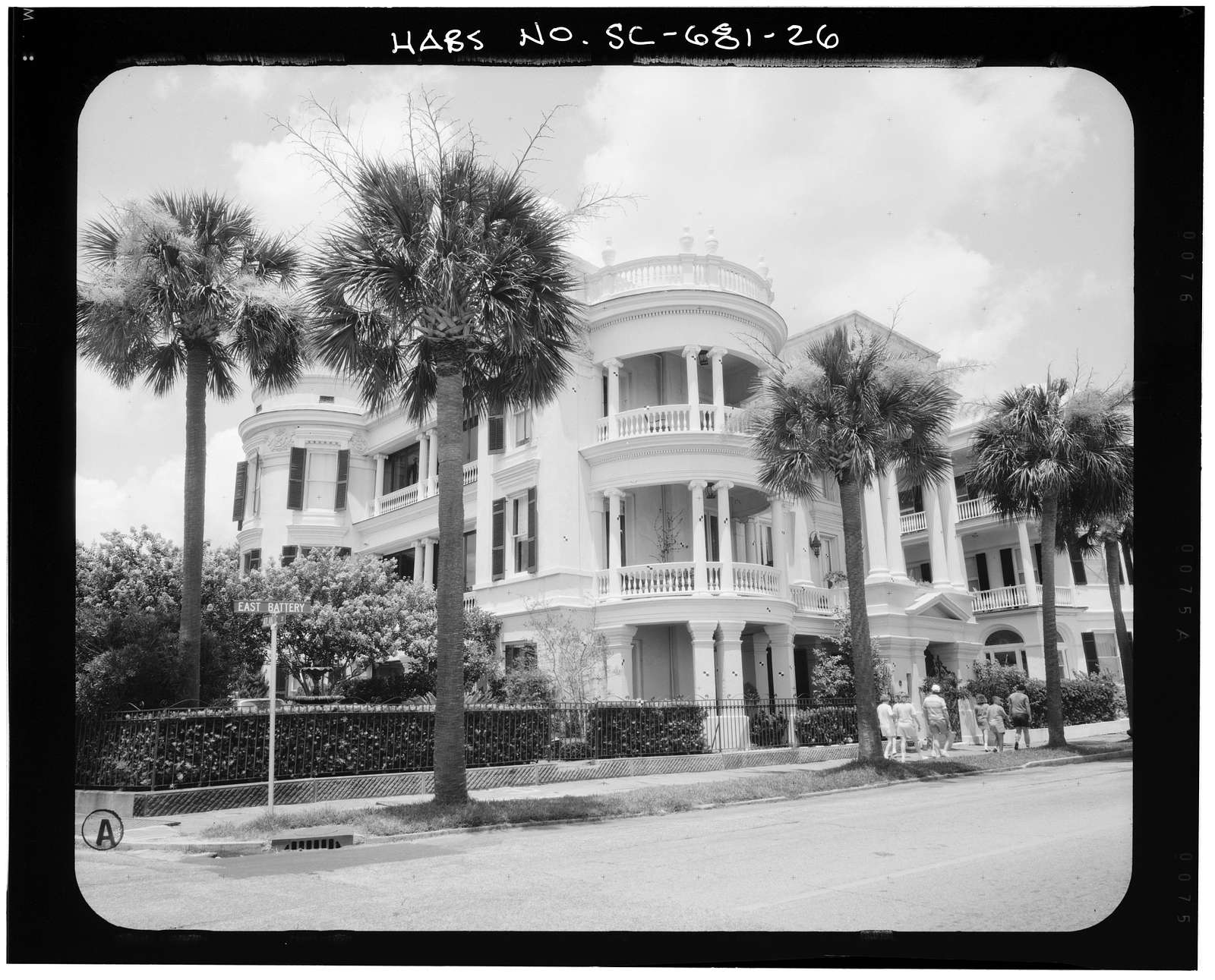 Porcher-Simonds House, 29 East Battery Street, Charleston, Charleston County, SC