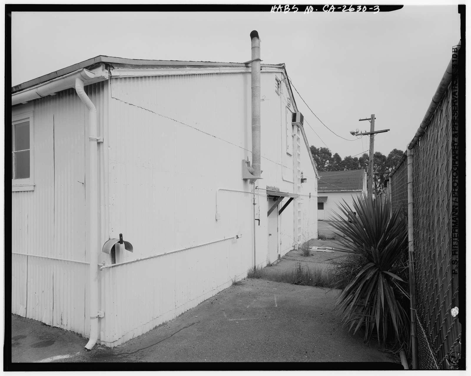Presidio of San Francisco, Electrical Shop, Crissy Field North cantonment, San Francisco, San Francisco County, CA