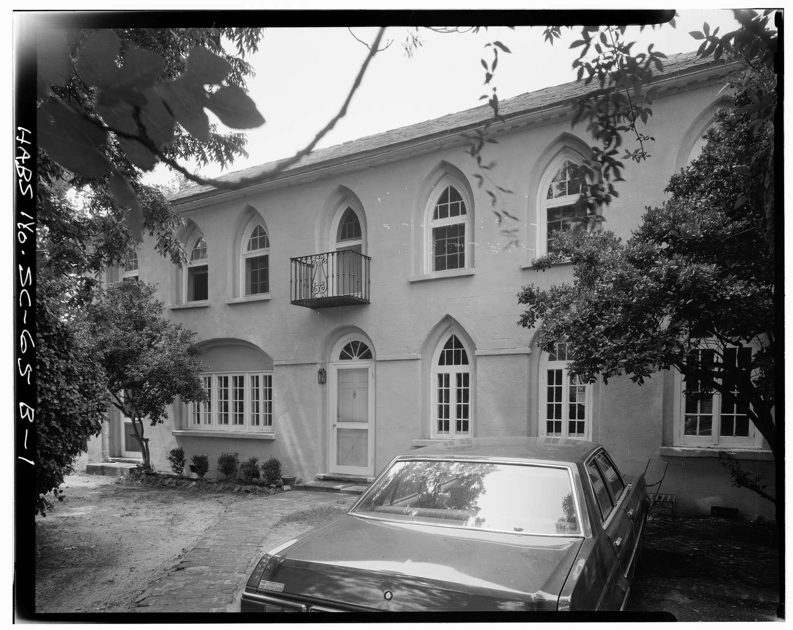 Ralph Izard House, Carriage House, 110 Broad Street, Charleston, Charleston County, SC