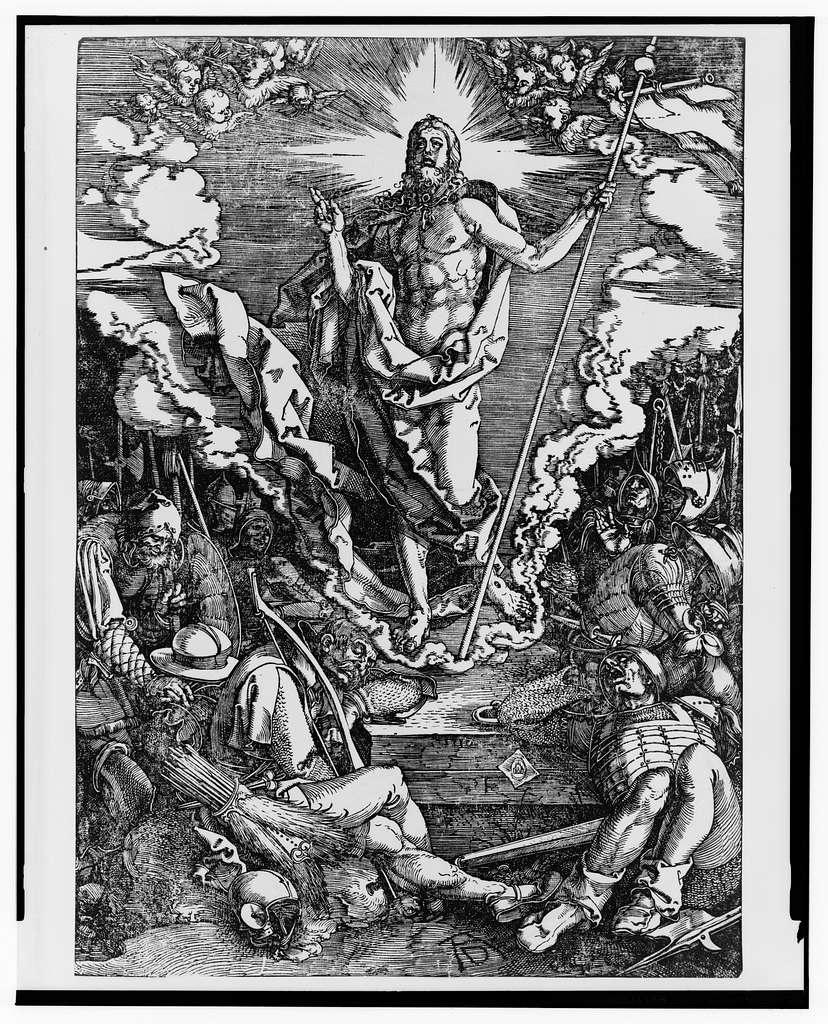 [Resurrection] / AD [monogram].