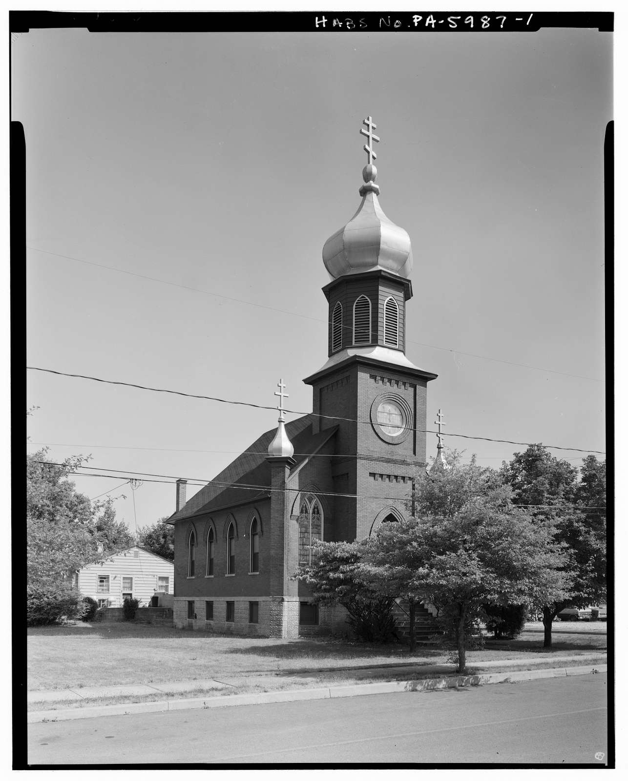 Saints Peter & Paul Orthodox Church, North Jefferson & Sherman Streets, Mount Union, Huntingdon County, PA