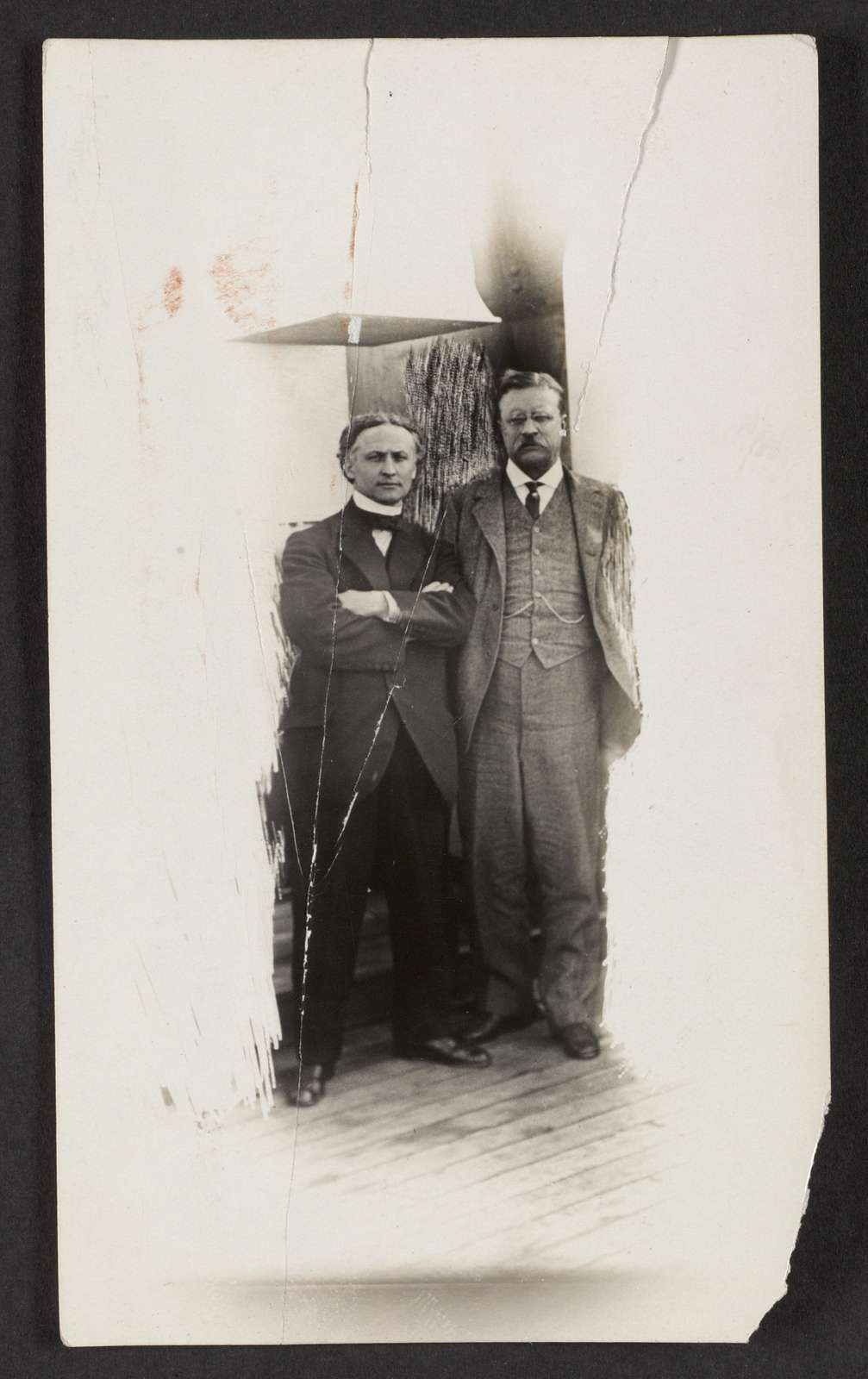 Theodore Roosevelt and Houdini, S.S. Imperator