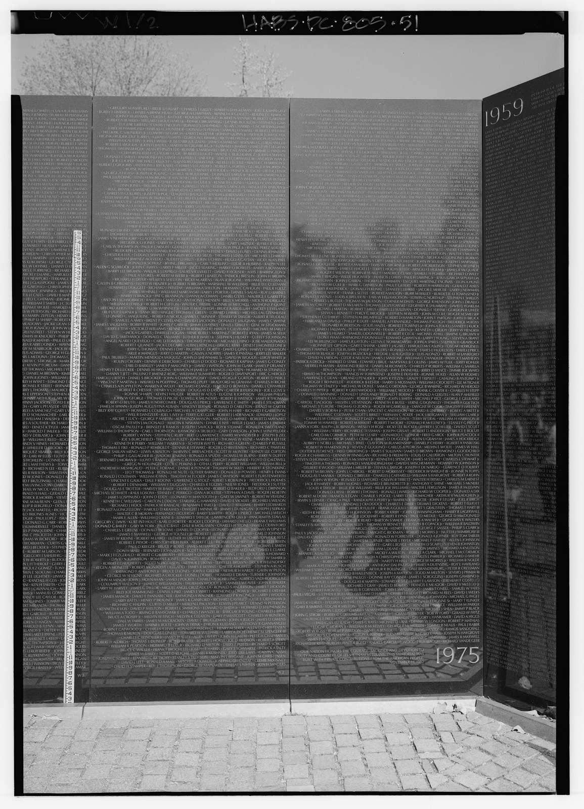 Vietnam Veterans Memorial, West Potomac Park, Washington, District of Columbia, DC
