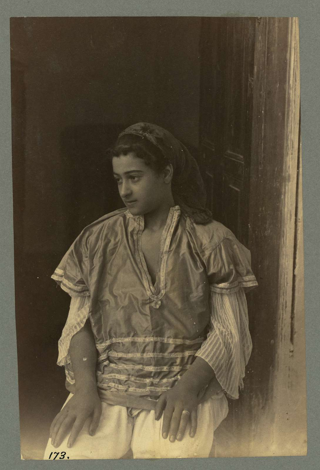 Woman of Tunis