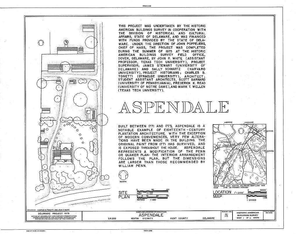 Aspendale, Route 300 (Downs Chapel), Kenton, Kent County, DE