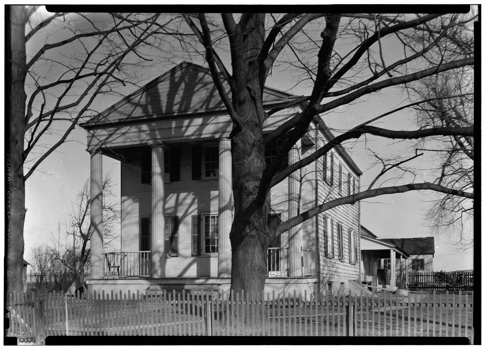 Colonel Dean Britton House, Dey Road, Plainsboro, Middlesex County, NJ
