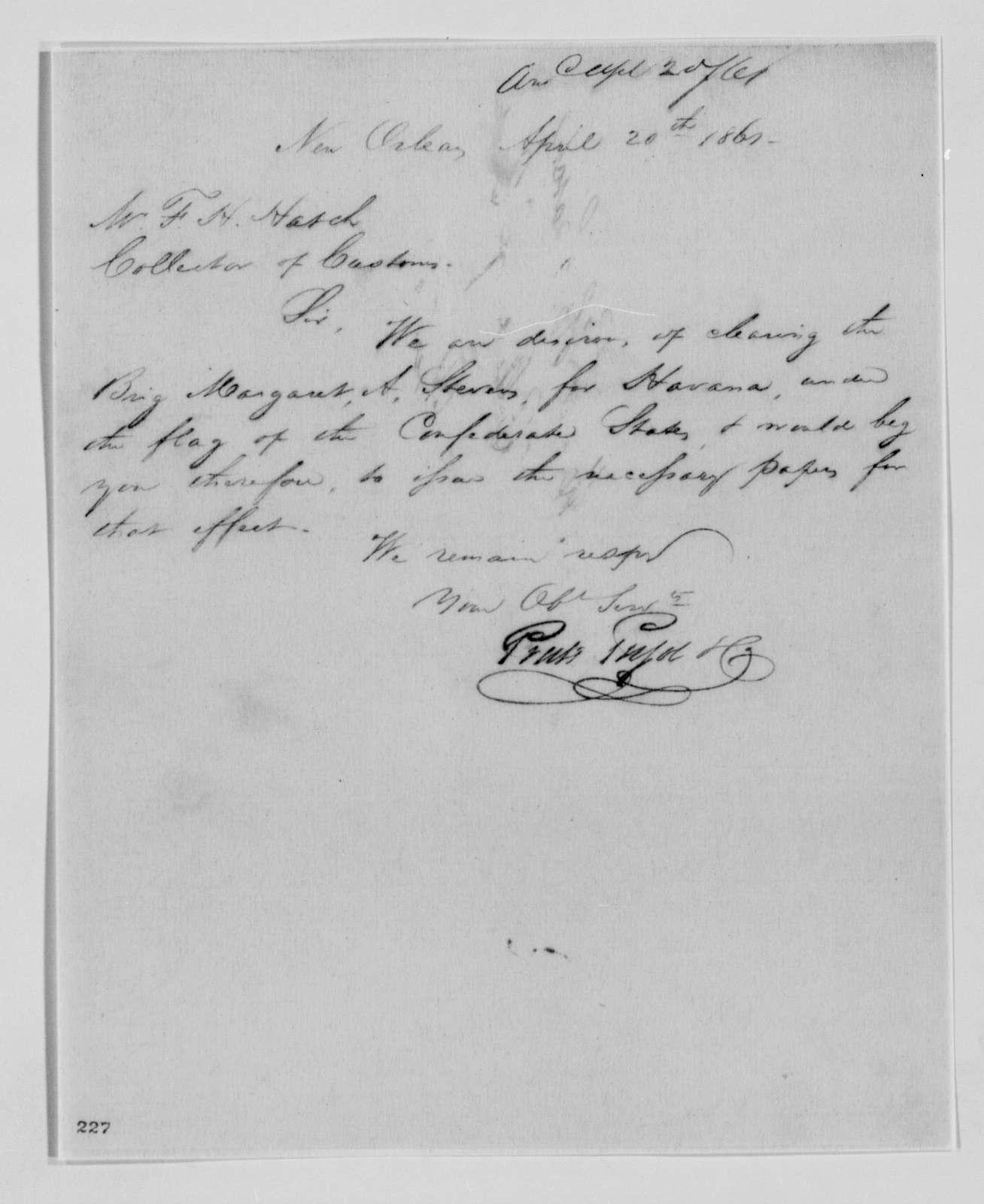 Confederate States of America records: Microfilm Reel 45