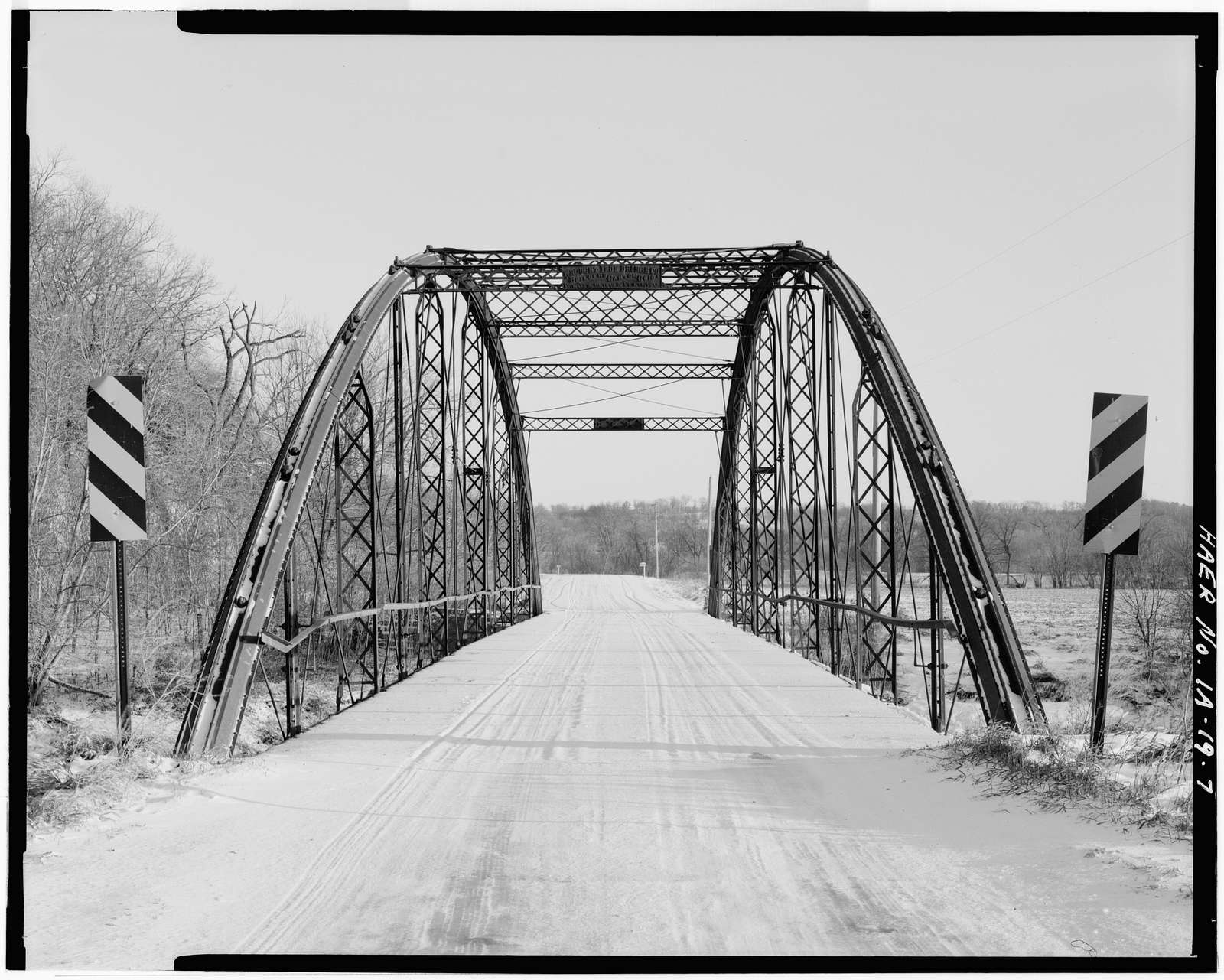 Freeport Bridge, Spanning Upper Iowa River, Decorah, Winneshiek County, IA