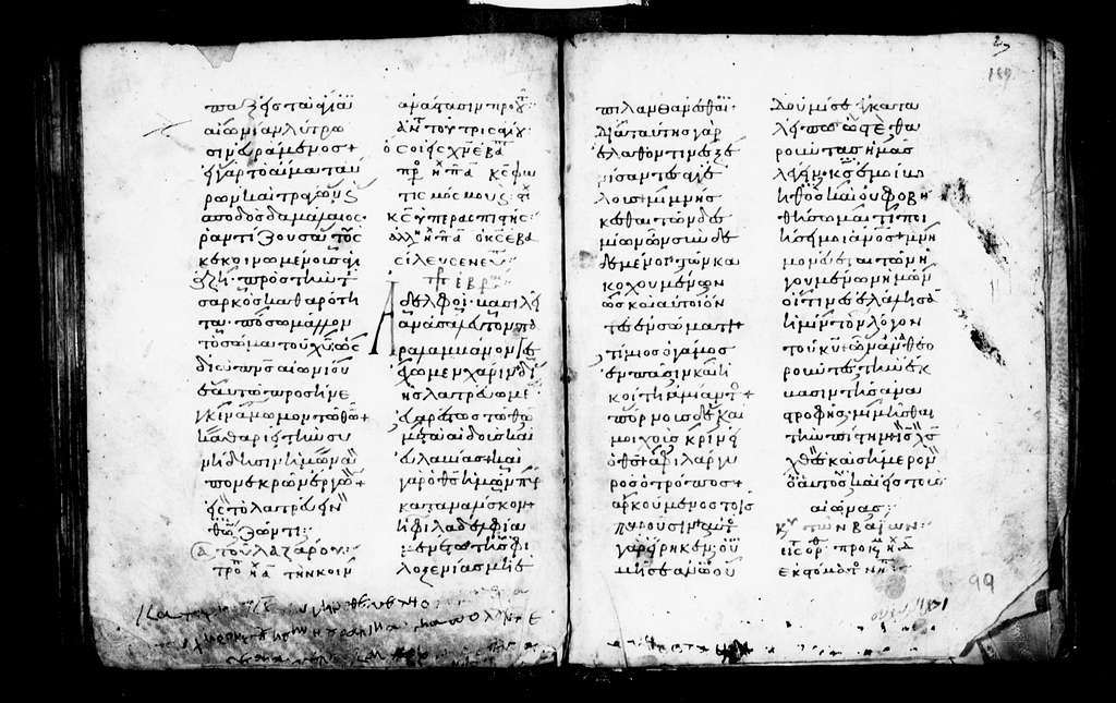 Hagios Stavros 67. Apostolos. 11th cent. 156 f. Pg. 24 ft