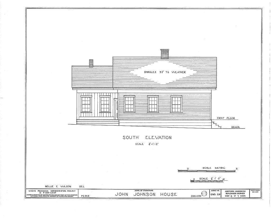 John Johnson House, Pedee, Polk County, OR