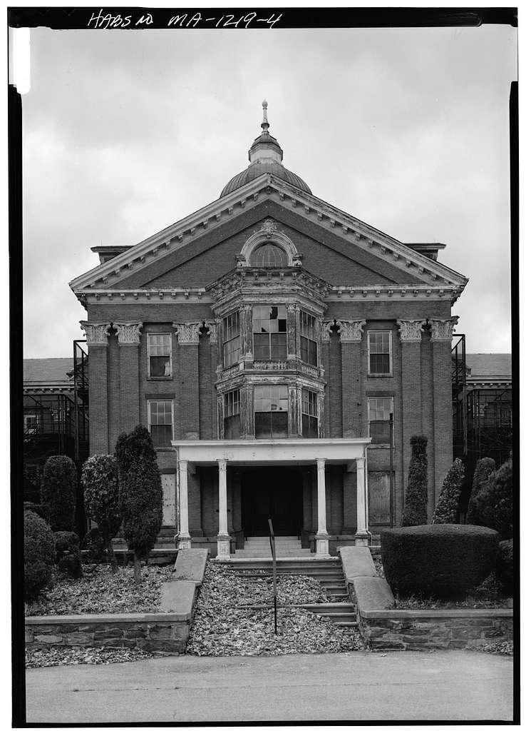 Taunton State Hospital, Danforth Street, Taunton, Bristol County, MA
