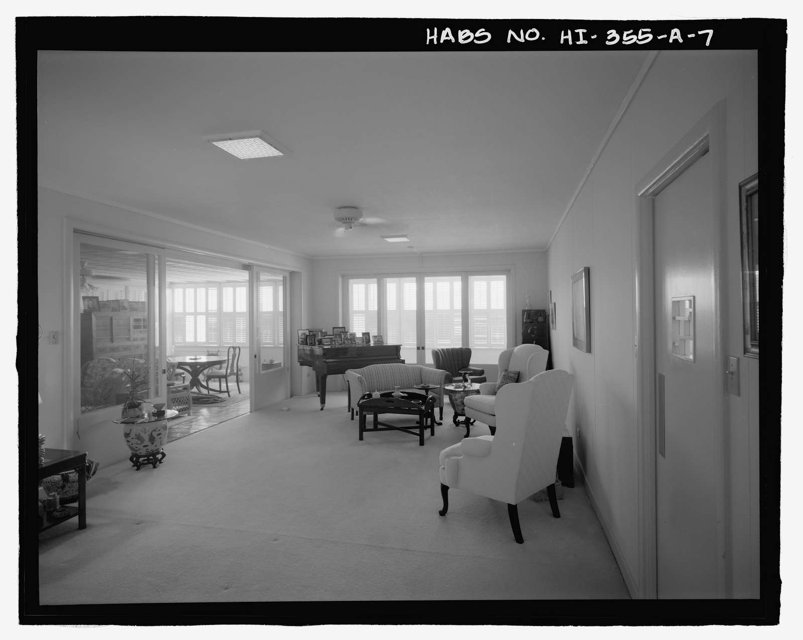 U.S. Naval Base, Pearl Harbor, Naval Housing Area Makalapa, Senior Officers' Quarters Type A, 37 Makalapa Drive, Pearl City, Honolulu County, HI