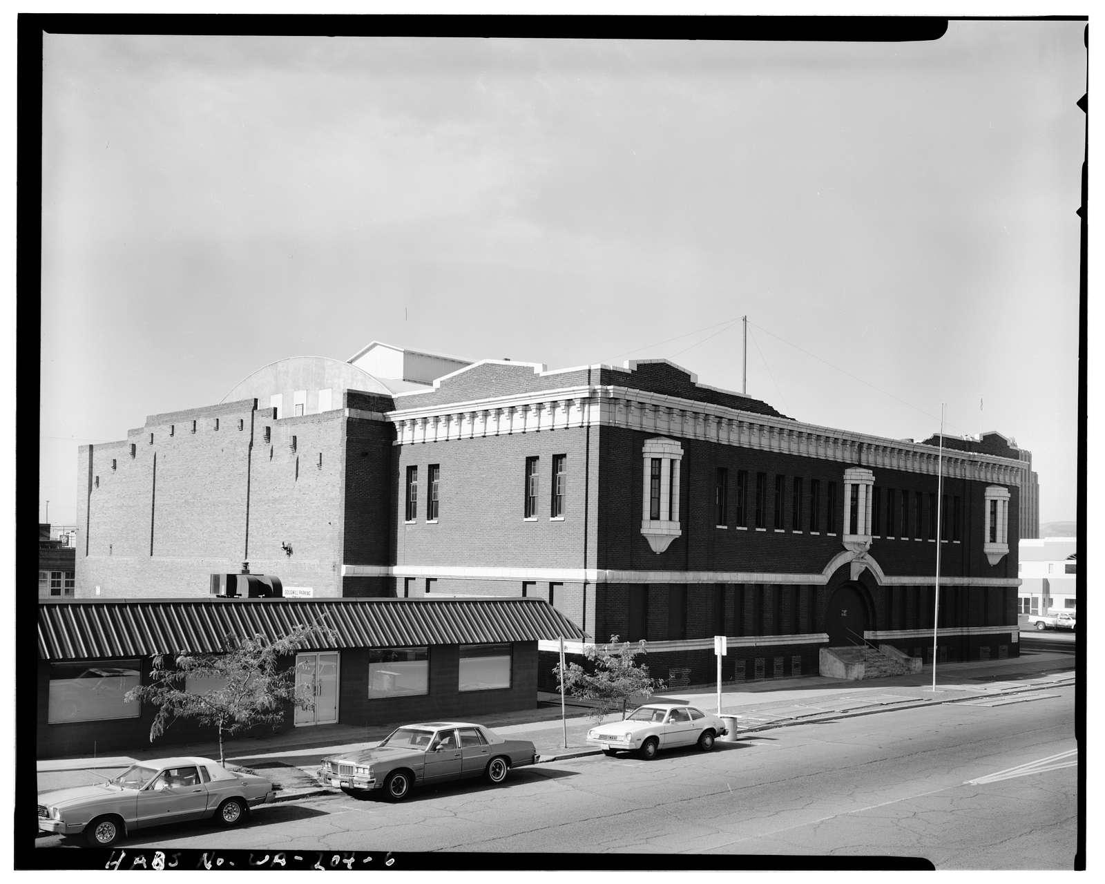 Yakima National Guard Armory, 202 South Third Street, Yakima, Yakima County, WA