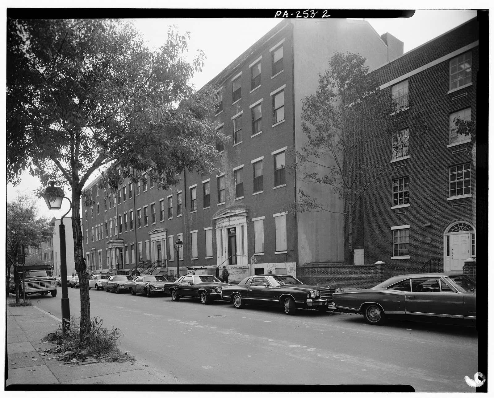 700-714 Spruce Street (Houses), Philadelphia, Philadelphia County, PA