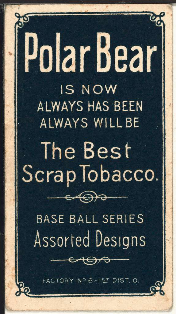 [Bob Groom, Washington Nationals, baseball card portrait]