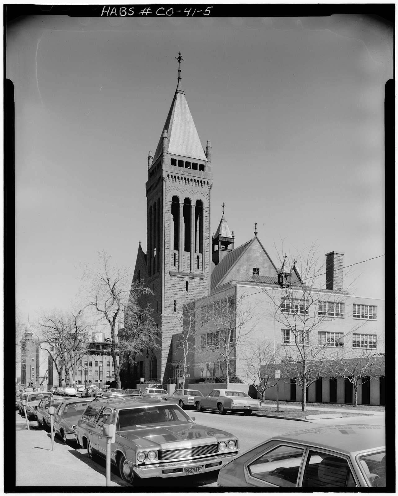 Central Presbyterian Church, 1660 Sherman Street, Denver, Denver County, CO