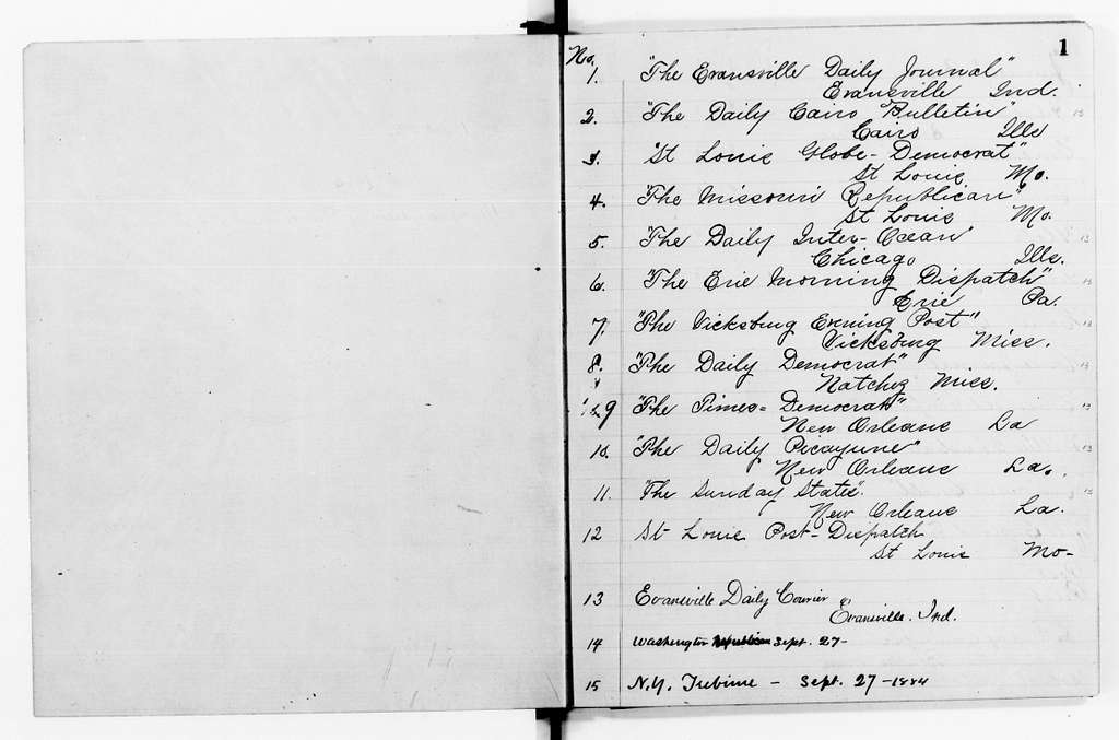 Clara Barton Papers: Red Cross File, 1863-1957; American National Red Cross, 1878-1957; Relief operations; Mississippi and Ohio river valleys; Register books of distributed documents, 1884 (2 vols. and index)