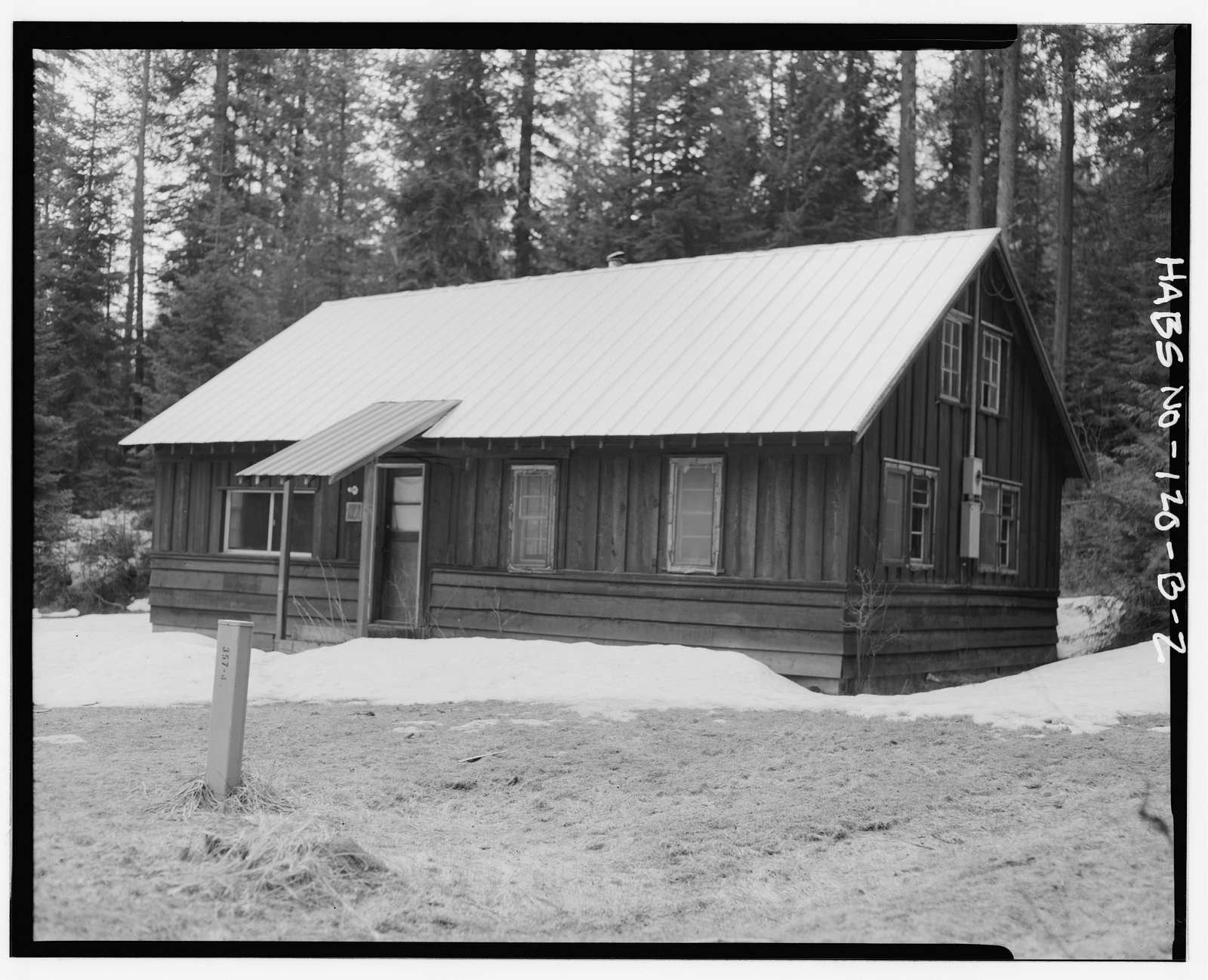 Clarkia Ranger Station, Cottage No. 2, West of Highway 3, .5 mile north of Clarkia, Clarkia, Shoshone County, ID
