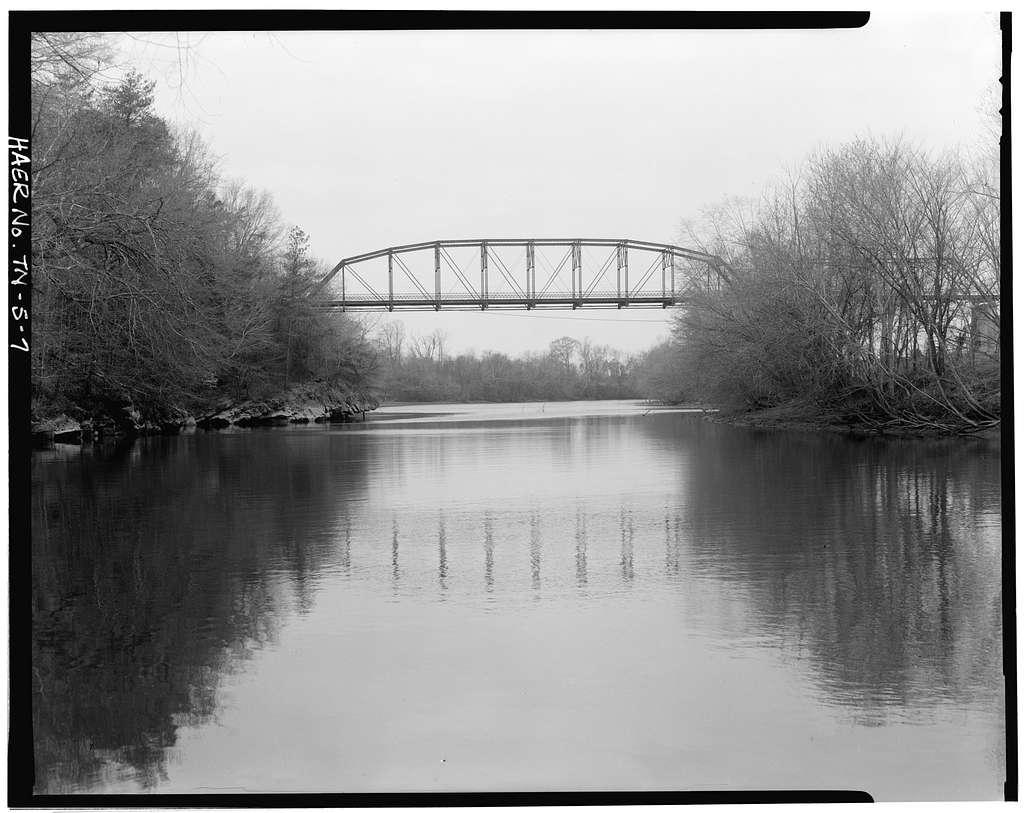 Dentville Road Bridge, Spanning Hiawassee River on Dentville Road, Benton, Polk County, TN