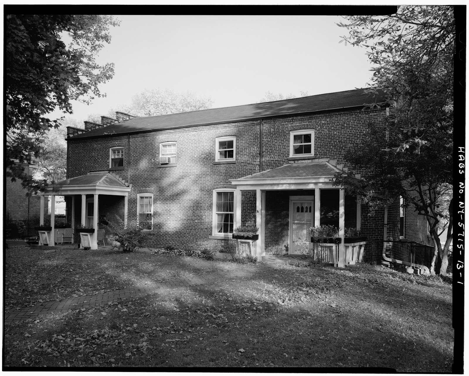 Governors Island, Commissary Storehouse, New York Harbor, Nolan Park, New York, New York County, NY