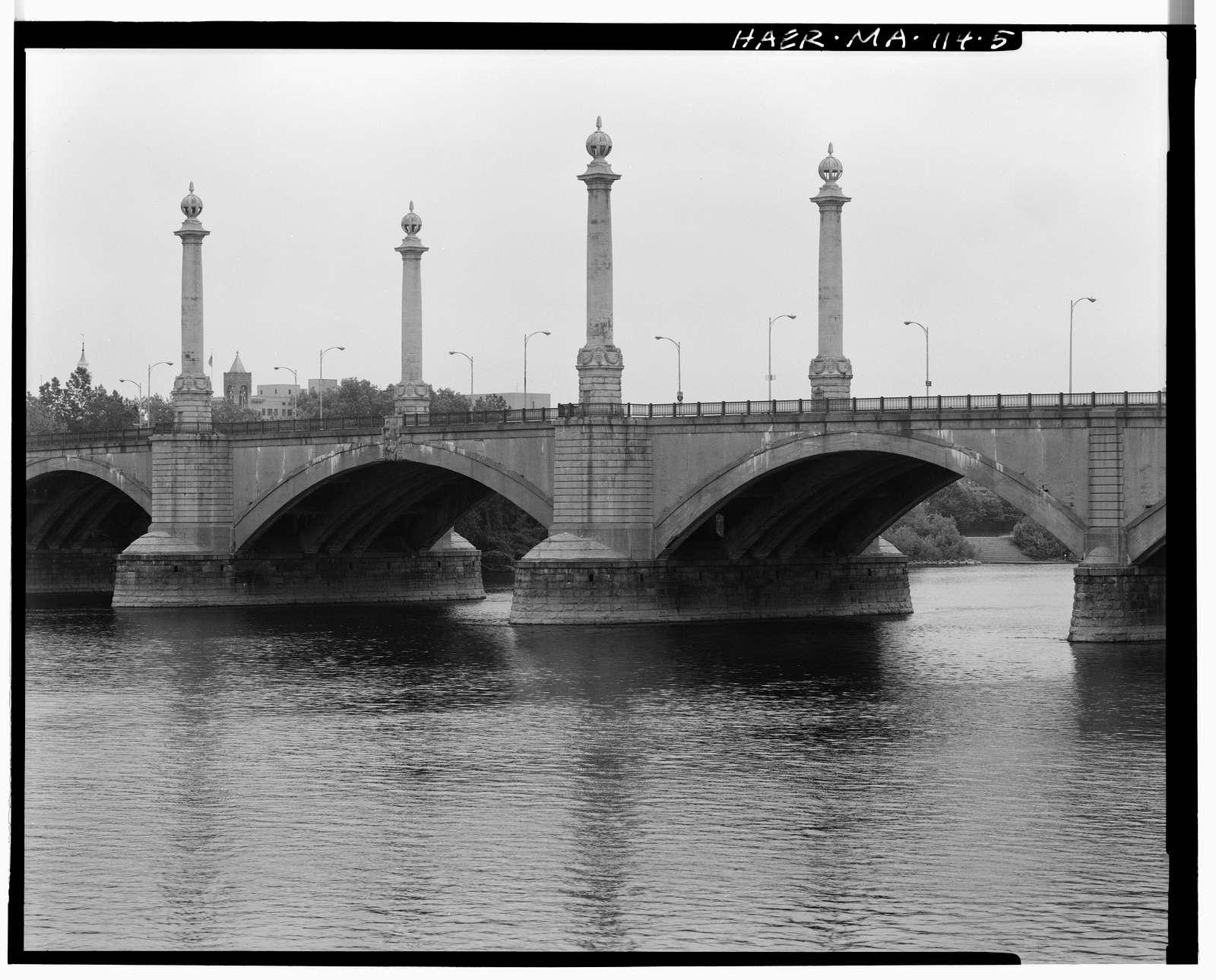 Hampden County Memorial Bridge, Spanning Connecticut River on Memorial Drive, Springfield, Hampden County, MA