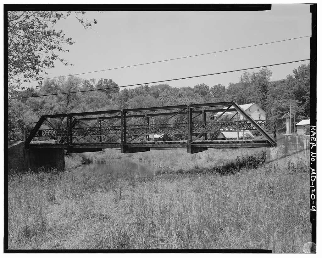 Harmony Road Bridge, Harmony Road spanning Little Catoctin Creek, Myersville, Frederick County, MD