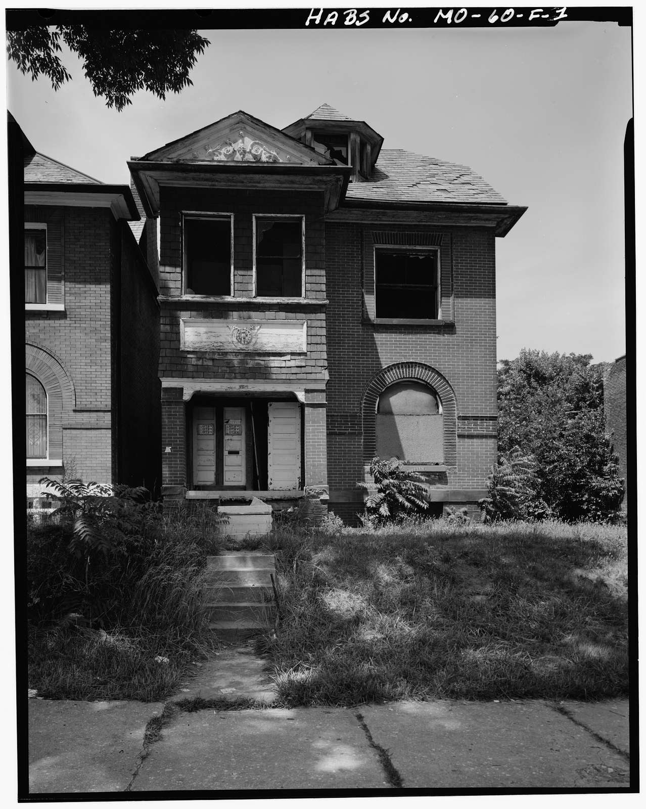 Hehman House, 4929 Page Boulevard, Saint Louis, Independent City, MO