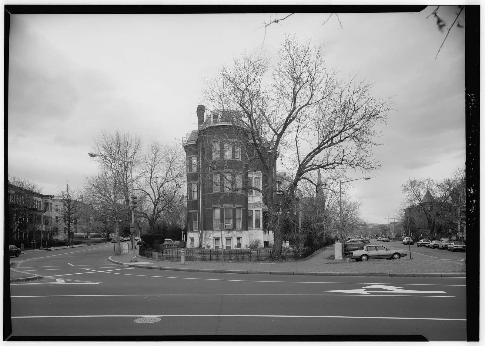 Logan Circle, Vermont Avenue, Rhode Island Avenue, & Thirteenth Street, Washington, District of Columbia, DC