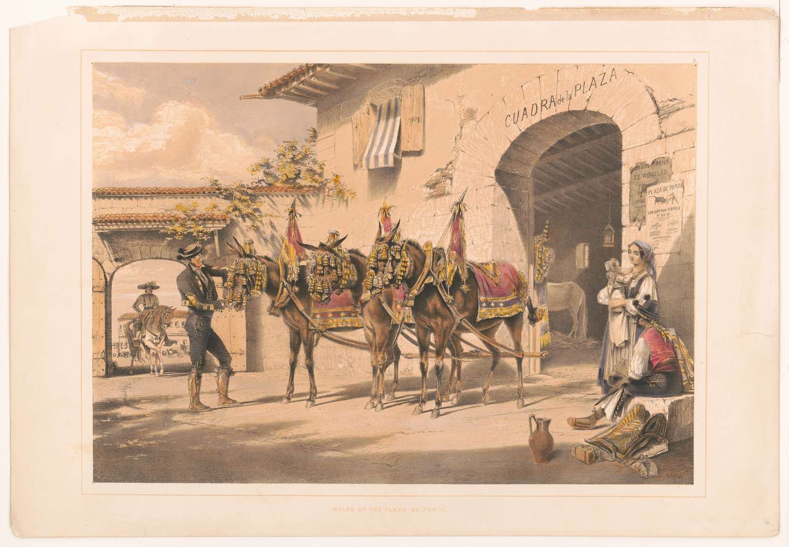 Mules of the Plaza de Toros