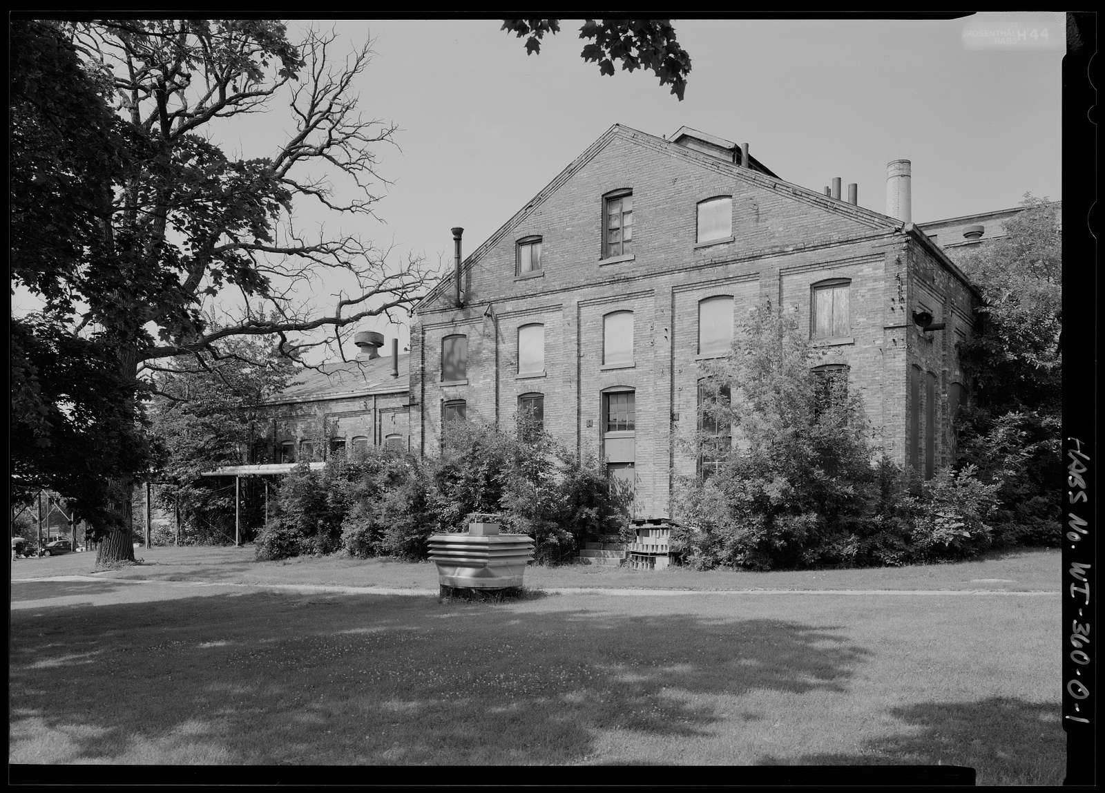 National Home for Disabled Volunteer Soldiers, Northwestern Branch, Power Plant, 5000 West National Avenue, Milwaukee, Milwaukee County, WI