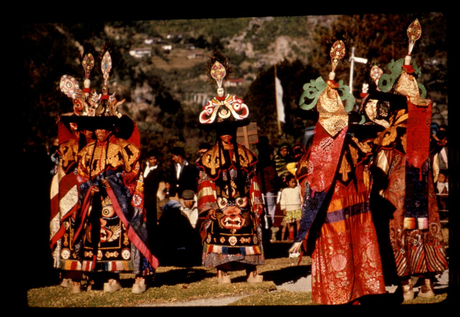 [Performers at New Year's ceremony, Gangtok, Sikkim]