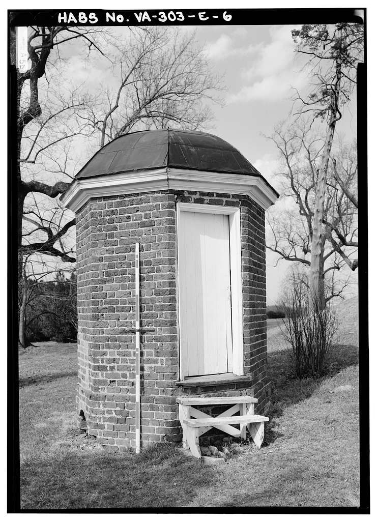 Poplar Forest, Privies, State Route 661, Forest, Bedford County, VA