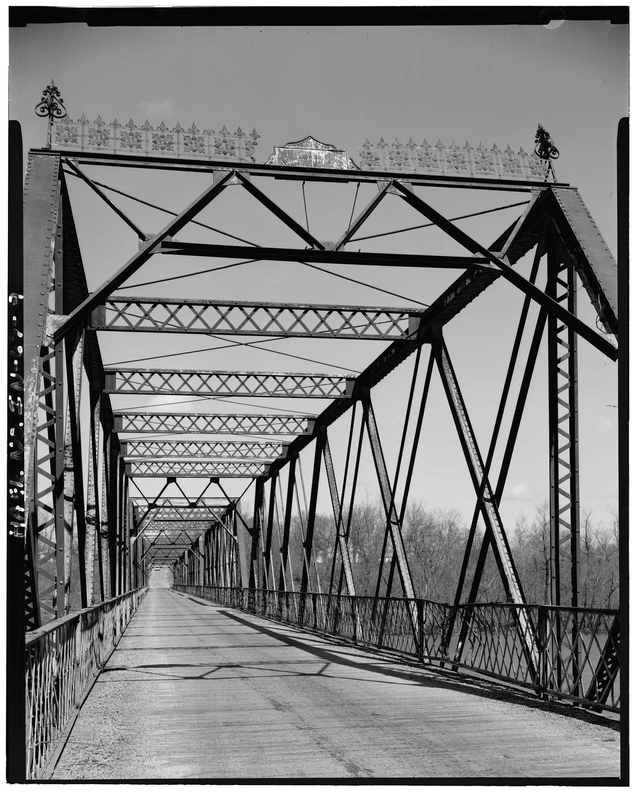 Riverside-Independence Bridge, Spanning Wabash River at County Road 500, Riverside, Fountain County, IN