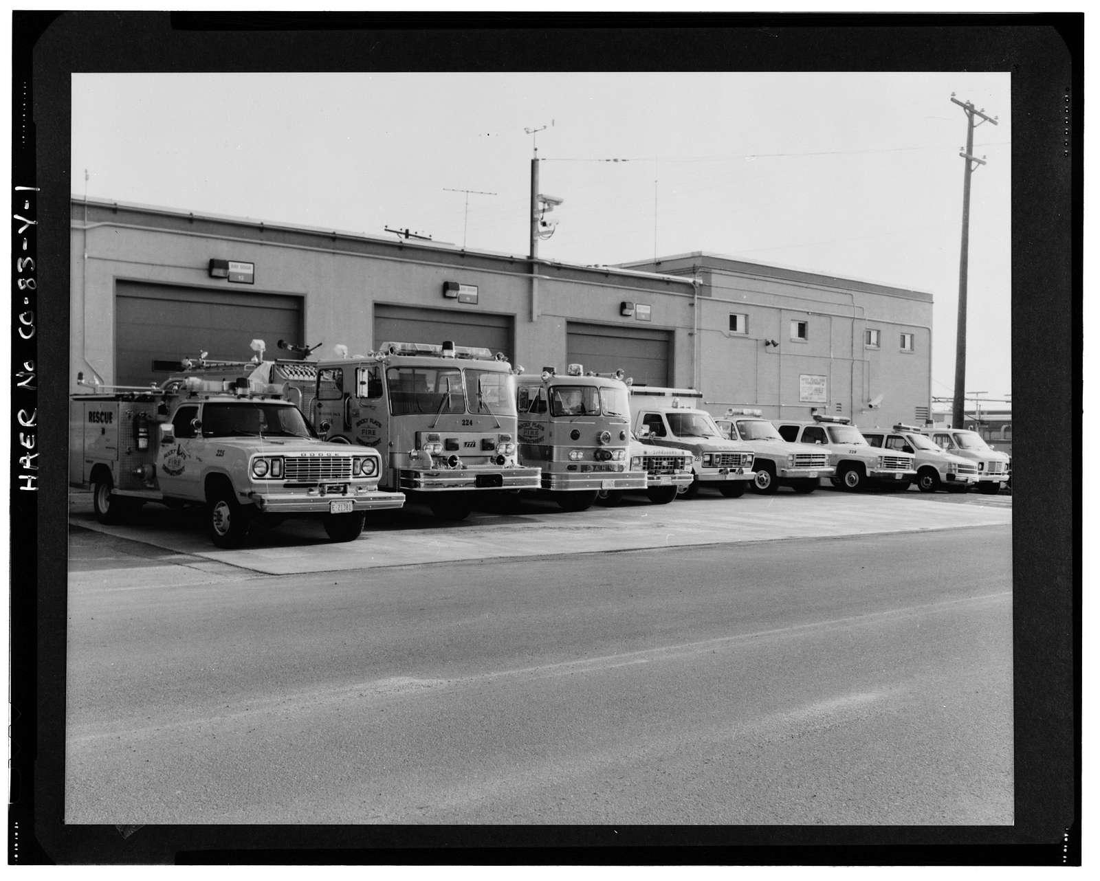 Rocky Flats Plant, Vehicle Maintenance Garage & Fire Station, Golden, Jefferson County, CO