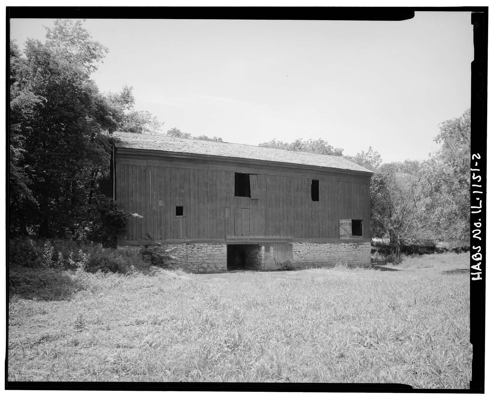 Rutherford Barn, East Hansel Road, Minooka, Grundy County, IL