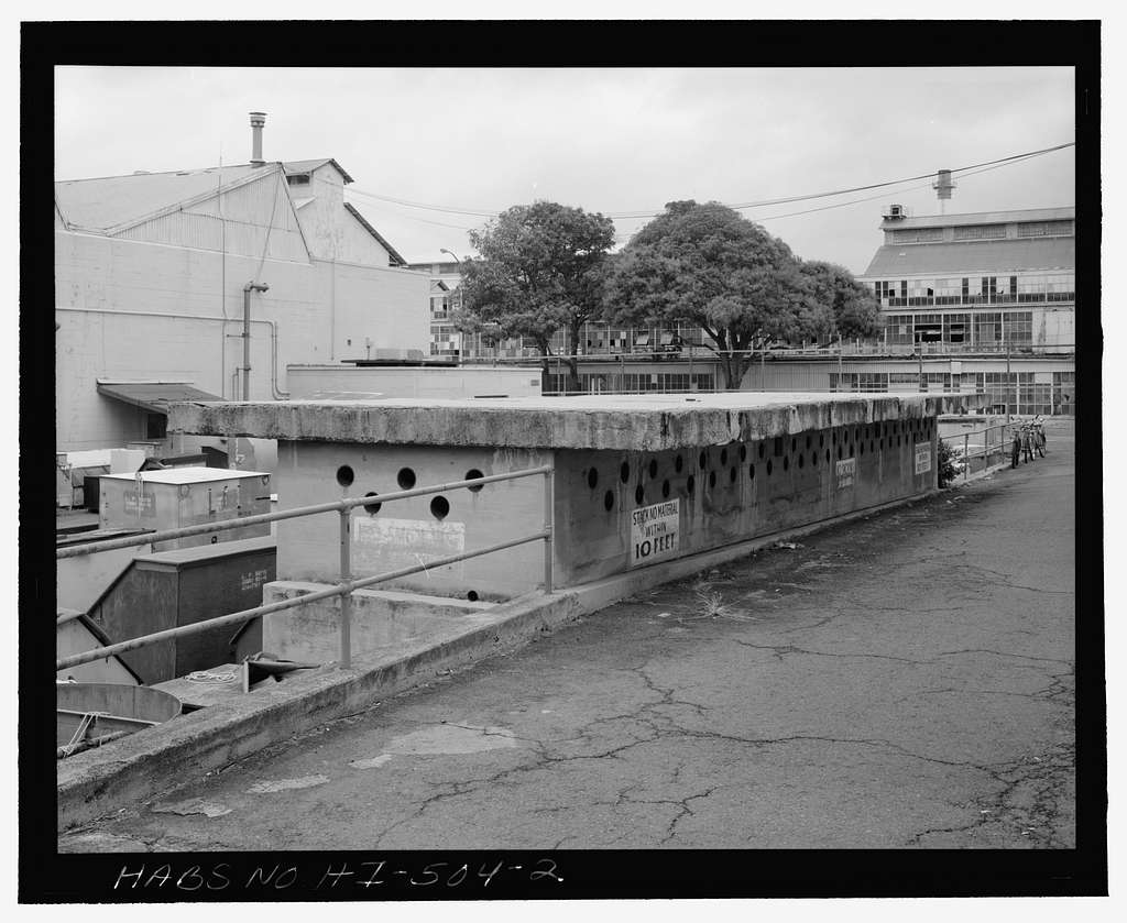 U.S. Naval Base, Pearl Harbor, Paint & Oil Storage, Near intersection of Avenue E & Seventh Street, adjacent to Facility Nos. 3A & 56, Pearl City, Honolulu County, HI