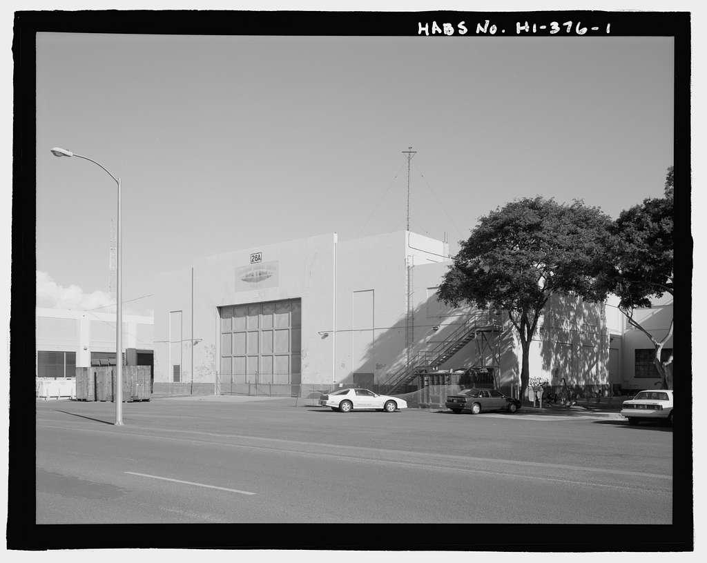 U.S. Naval Base, Pearl Harbor, Storehouse Extension, Gannet Street between Lexington Boulevard & parking lot, Pearl City, Honolulu County, HI