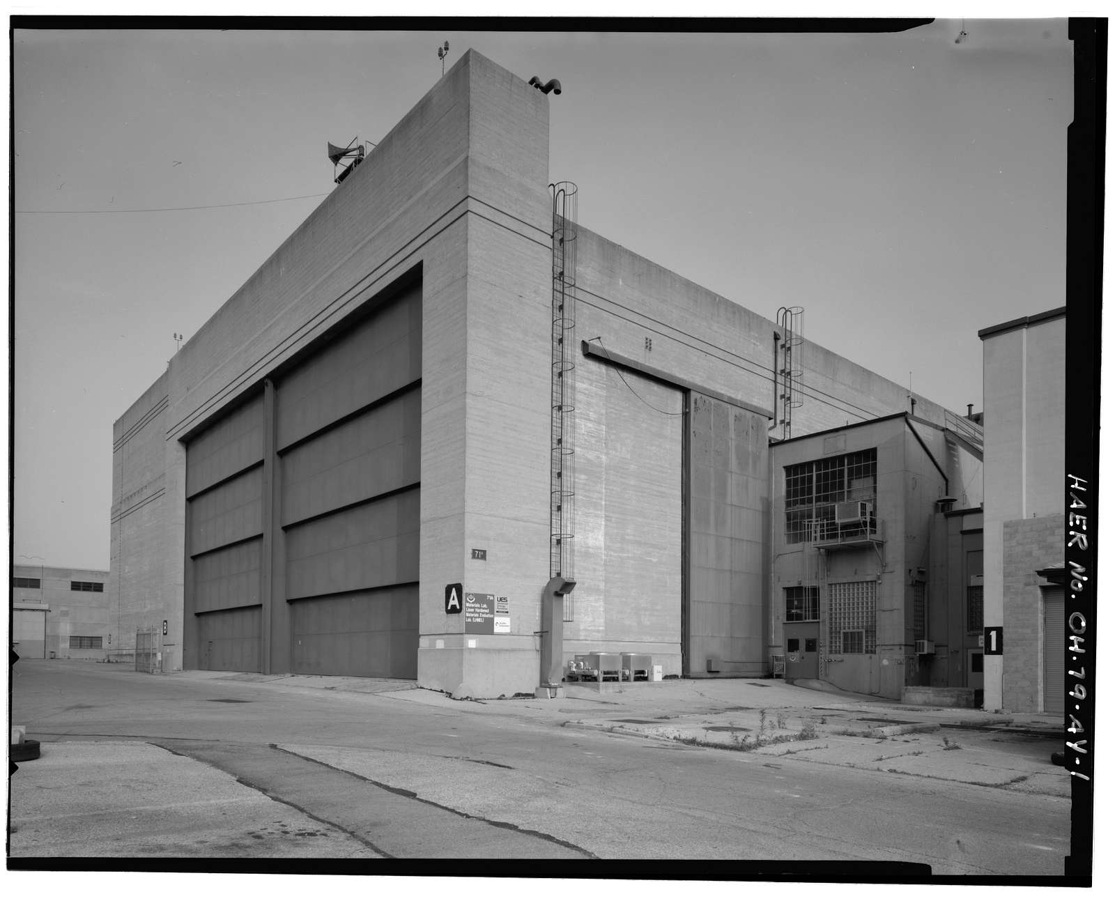 Wright-Patterson Air Force Base, Area B, Building 71A, Propulsion Research Laboratory, Seventh Street between D & G Streets, Dayton, Montgomery County, OH
